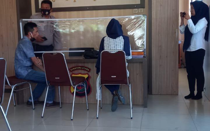 Merasa Dilecehkan, Wanita Asal Perbaungan Lapor ke Polres Sergai