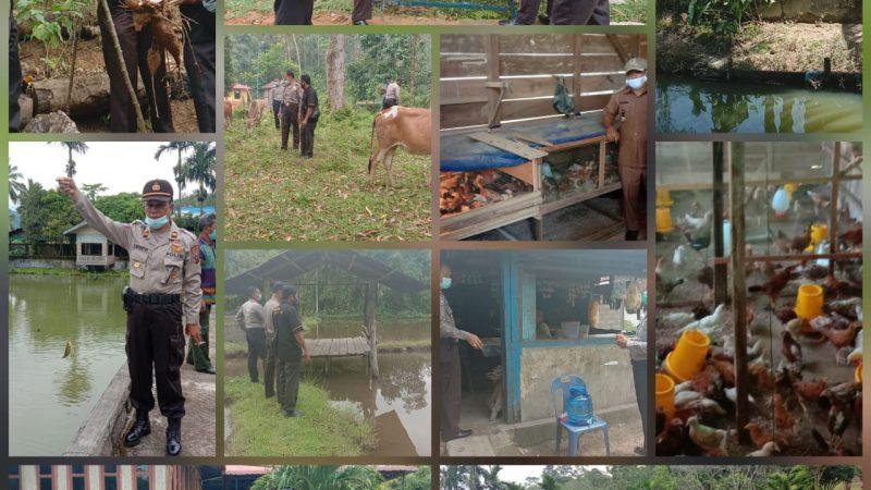 Polres Tapteng Bentuk Kampung Tangguh Inspirasi Menghadapi Pandemi COVID-19