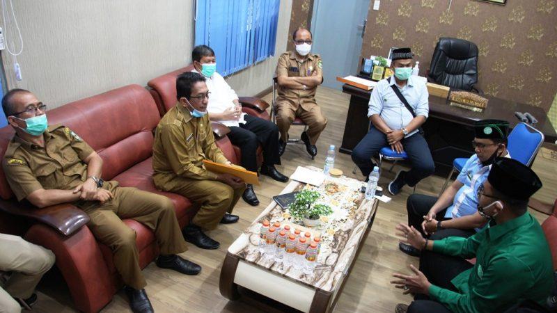 100 Orang Peserta Terima Pelatihan Manajemen Masjid dan Imam Sholat dari DMI Siantar