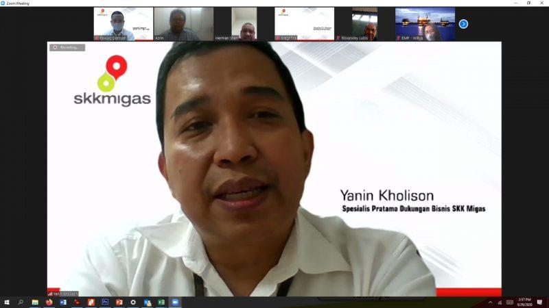 SKK MIGAS SUMBAGUT – KKKS Gelar Silahturahmi Virtual Bersama PWI Sumut