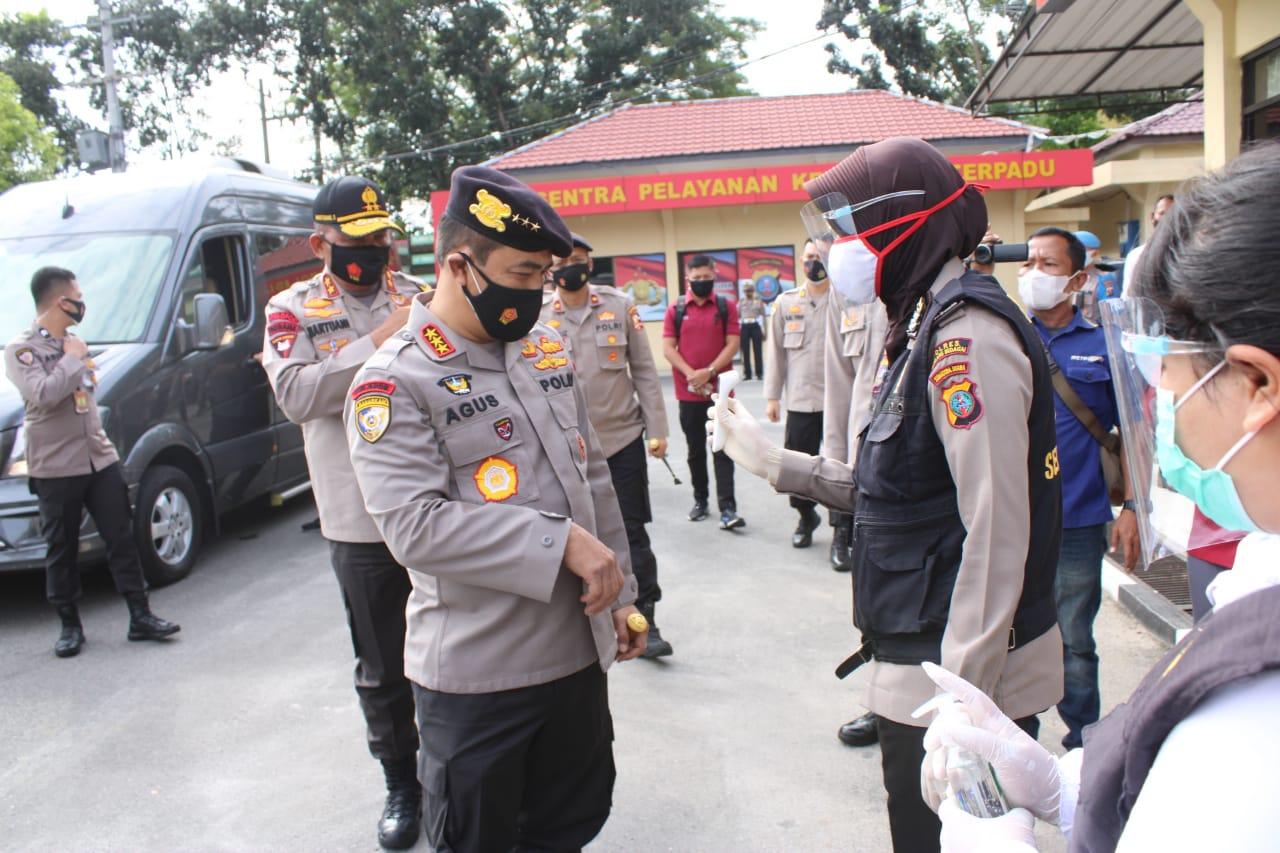 Ops Aman Nusa II, Kabaharkam Polri Kunjungi Polres Serdang Bedagai