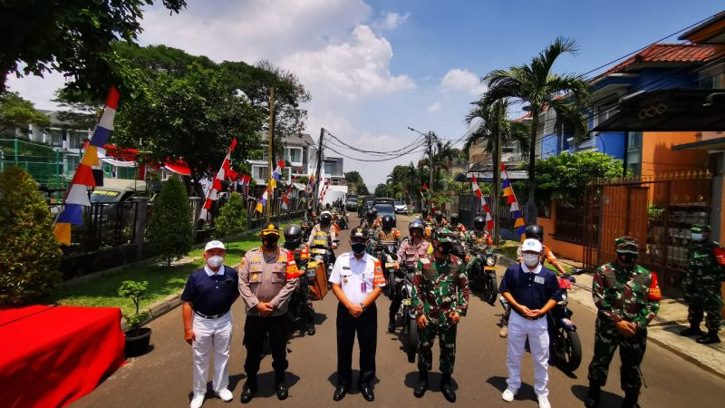Danrem 052 Wijaya Krama Brigadir Jenderal TNI Purwito Hadi Wardhono,Se.,M. Hum, Memberikan Bantuan 5000 Sembako Kepada Masyarakat  Terdampak Wabah Covid-19
