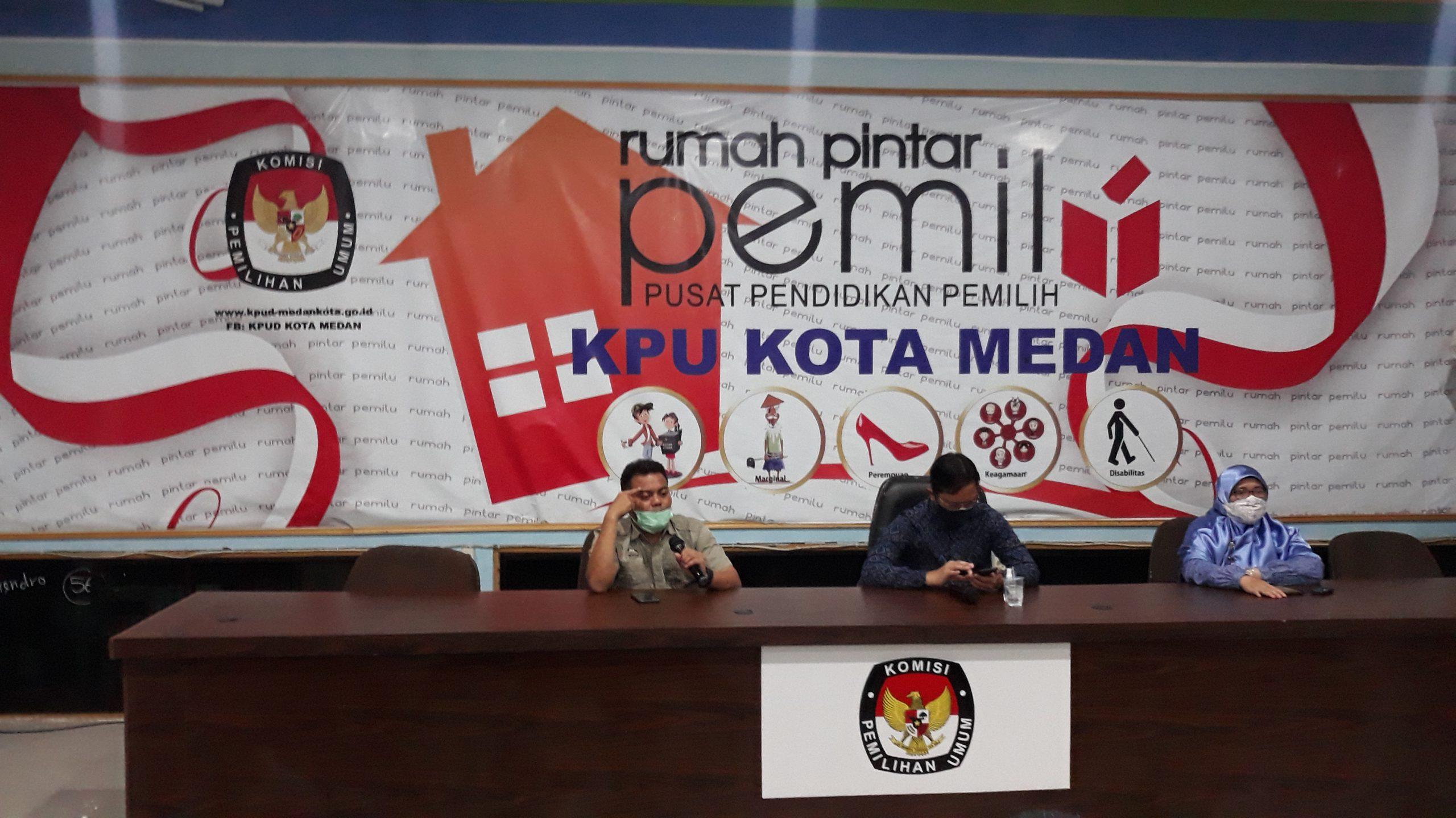 KPU Kota Medan Akan Buka Debat Kandidat Pasangan Calon Walikota dan Wakil Walikota Medan