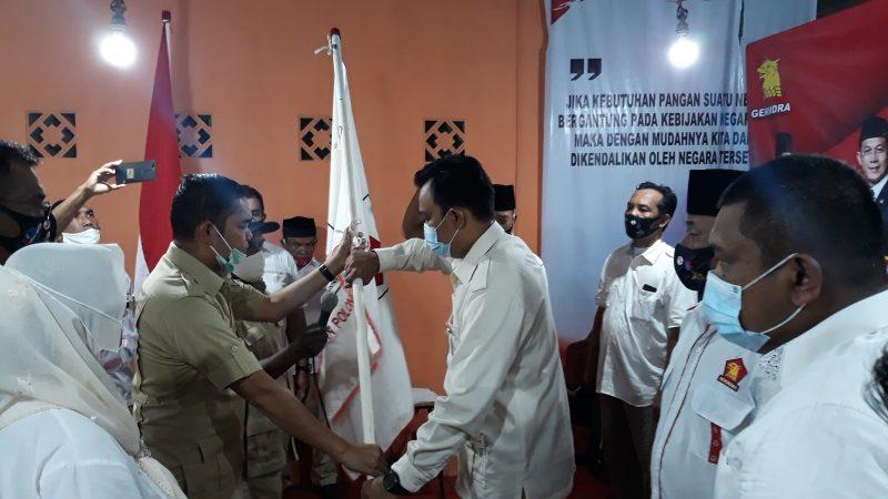 Ihwan Ritonga Lantik M.Wisnu Abd Sebagai Ketua PAC Partai Gerindra Medan Polonia
