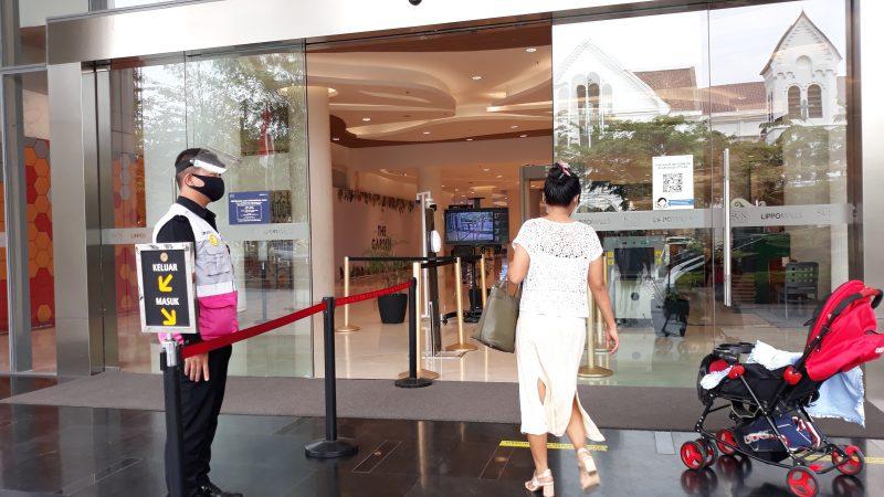 Sogo Plaza Terapkan Prokes 3M Covid-19 Kepada Pengunjung