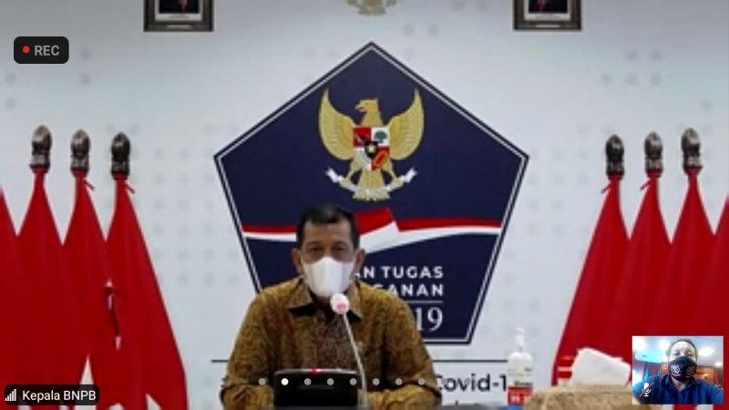 Doni Monardo Gandeng PWI Pusat Cegah Penyebaran Covid-19 di Indonesia