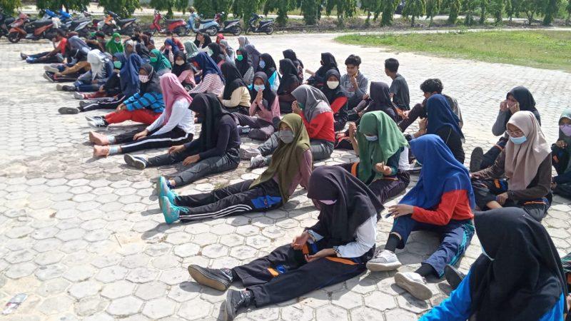 Terkait Pelajar SMA Negeri 1 Tualang Langgar Protokol Kesehatan Covid-19, Ini Kata Satgas Covid-19 Kabupaten Siak