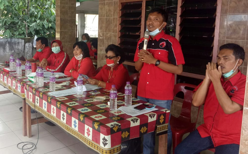 Target Menang, PDIP Kabupaten Toba Tidak dukung Paslon Lupa
