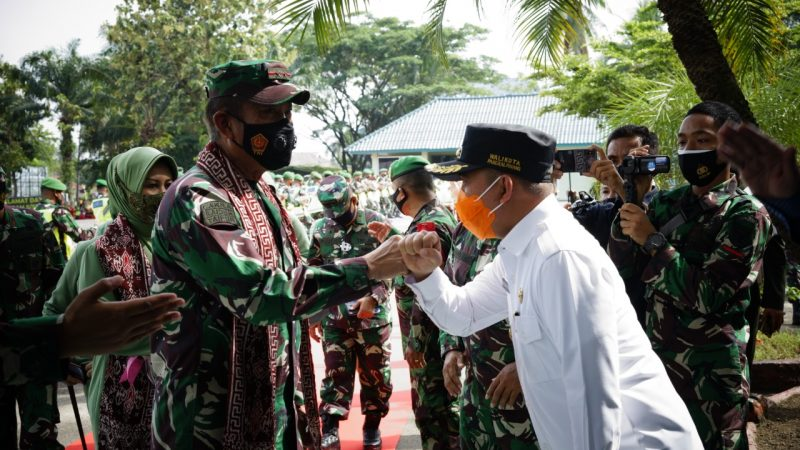 Maulan Aklil  Bangga Akan Kunjungan Pangdam II Sriwijaya, Semoga Bisa Memberi Dampak Positif Bagi Pilkada