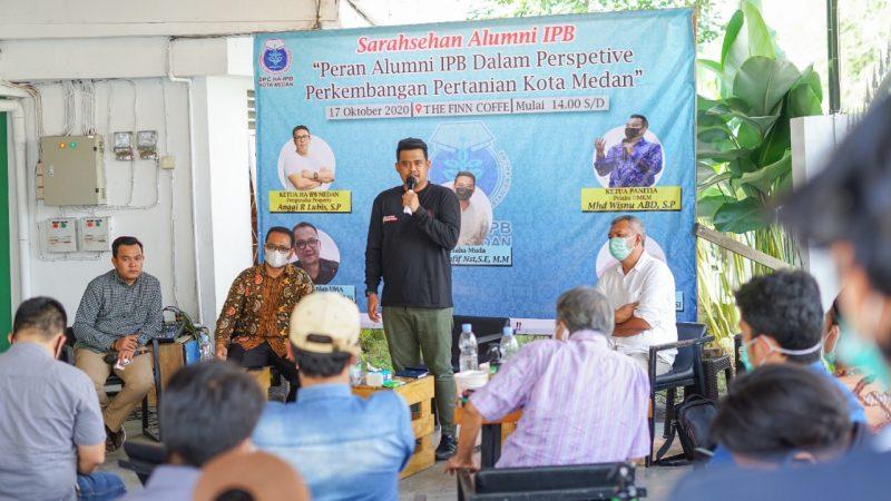 Tingkatkan Kesejahteraan, Calon Walikota Medan Bobby Bertekad Manfaat Lahan Kosong Untuk Sektor Pertanian