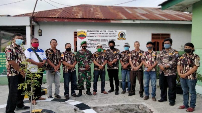 Danramil 12 Bandar Khalipah Harap FKPPI Bandar Khalipah Bersinergi dengan TNI Polri