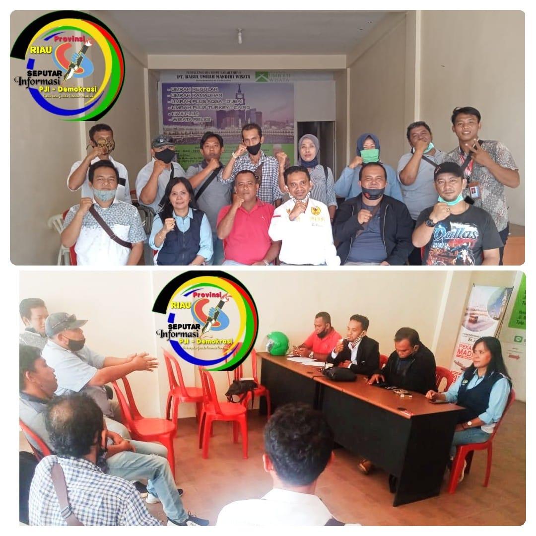 Tiada Halangan dan Covid-19 Berlalu, Pengurus PJI-Demokrasi se Provinsi Riau Siap Dikukuhkan dan Dilantik
