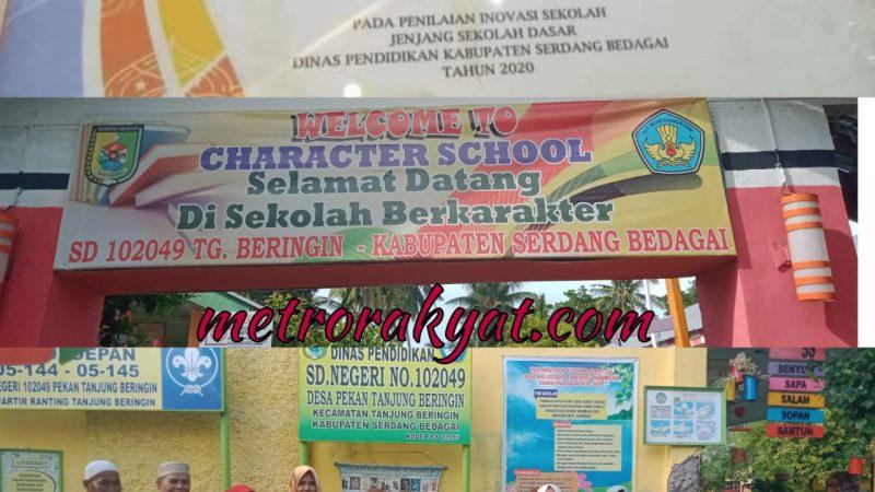 SDN 102049 Tanjung Beringin Dapat Anugerah Inovasi Sekolah Terbaik ke-IV se-Sergai Tahun 2020