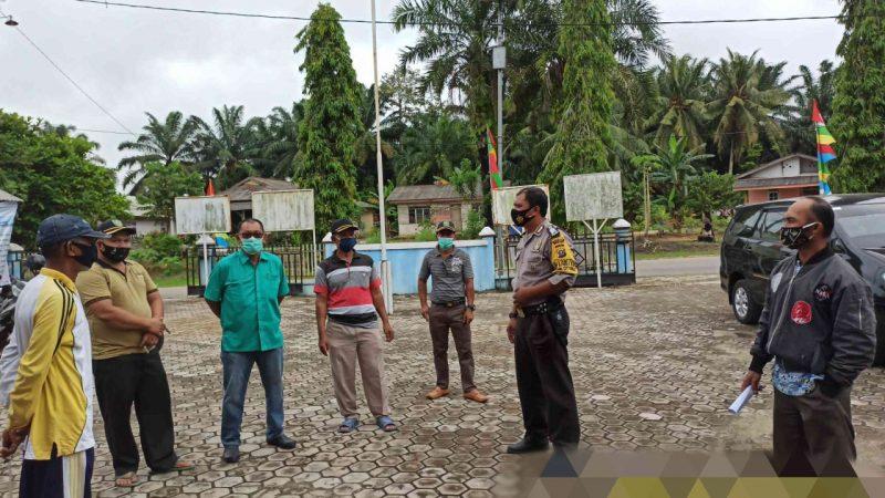 Bhabinkamtibmas Polsek Tualang Bripka Benny Harapkan Masyarakat Kampung Jaga Kesehatan