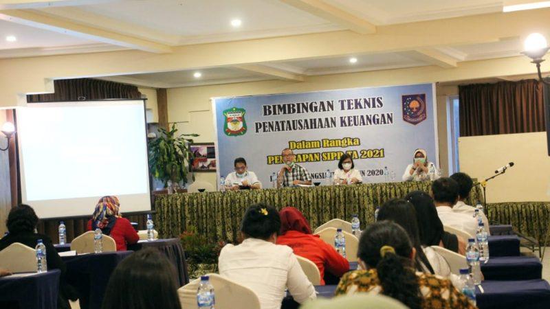 Pemko Siantar Gelar Bimtek Penatausahaan Keuangan Daerah Berbasis Aktual