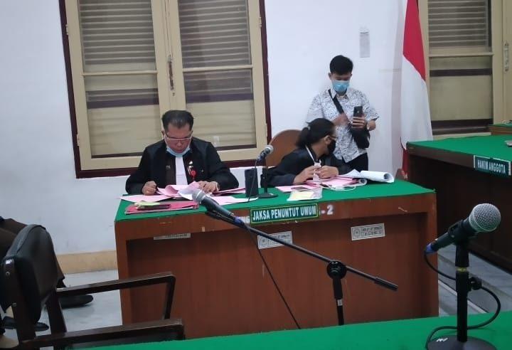 Jaksa Kejati Sumatera Utara Tuntut 1 Tahun 6 Bulan Pemilik Shabu Seharga Rp700 Ribu