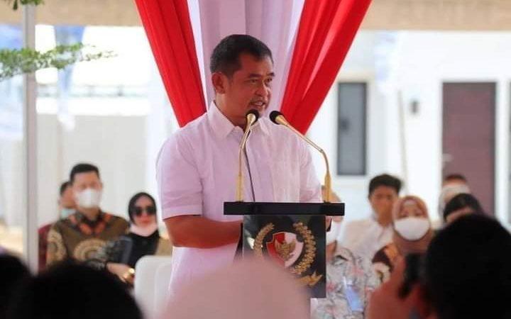 Paspampres Resmi Menerima Kunci Perumahan di Bekasi