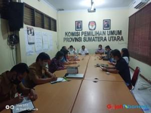 Terkait Pilkada, Komisi I DPRD Samosir Konsultasi ke KPU Sumut