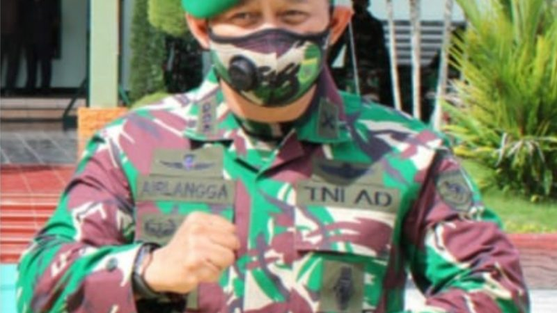 Kolonel Arm Airlangga : Supaya Masyarakat Sadar Covid-19 Ancaman Nyata
