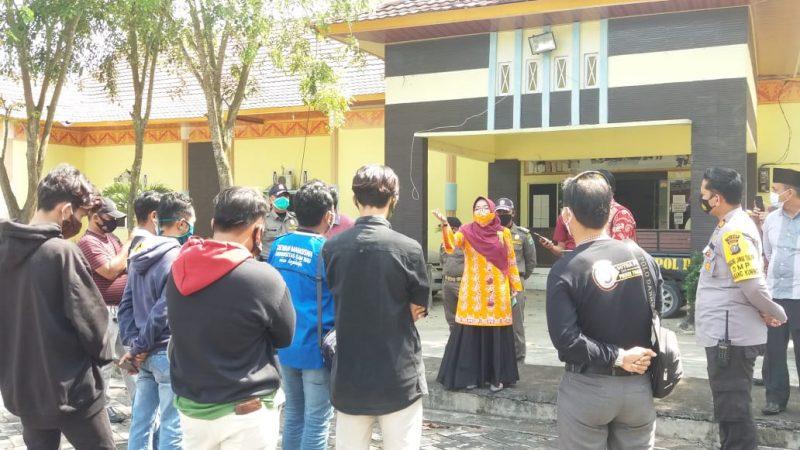 Lapor Pak Presiden, Gubernur Riau Dan Pjs Bupati Siak Langgar Protokol Kesehatan Covid-19, Pemerintah Pusat Diminta Ambil Sikap