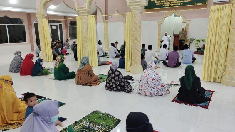 Yonzipur 1/DD Gelar Acara Peringatan Maulid Nabi Muhammad SAW di Mesjid At Taqwa Makoyonzipur 1/DD Jl. Kapten Muslim Helvetia