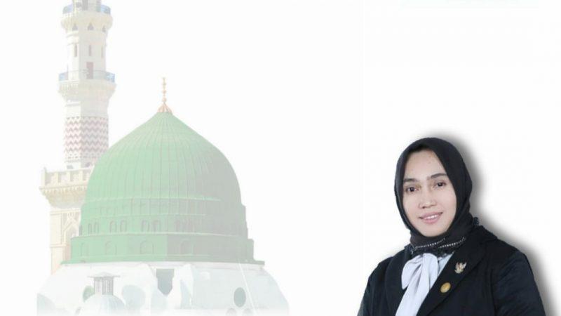 Maulidin Nabi Besar Muhammad,SAW Di Mata Hj. Dr. Rizayati.SH.MM