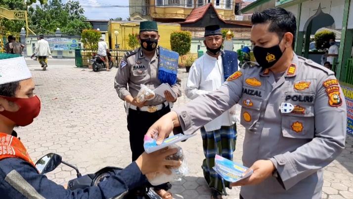 Kapolsek Tualang : Jaga Ikatan Silaturahmi Antara Masyarakat Dengan Polri