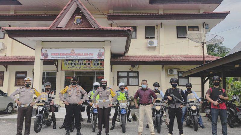 Antisipasi Begal Sepeda, Polres Siak Turunkan Satgas Khusus Anti Begal