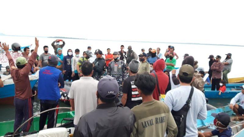 Guna Mempertahankan Hak Mereka Yang Di Rampas Oleh Tambang Laut Ilegal,Aliansi Nelayan Teluk Kelabat Dalam Lakukan Aksi Damai