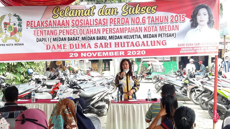 Duma Kecewa Lurah dan Instansi Diundang Namun Tidak Hadir Saat Pelaksanaan Sosperda No.6 Tahun 2015