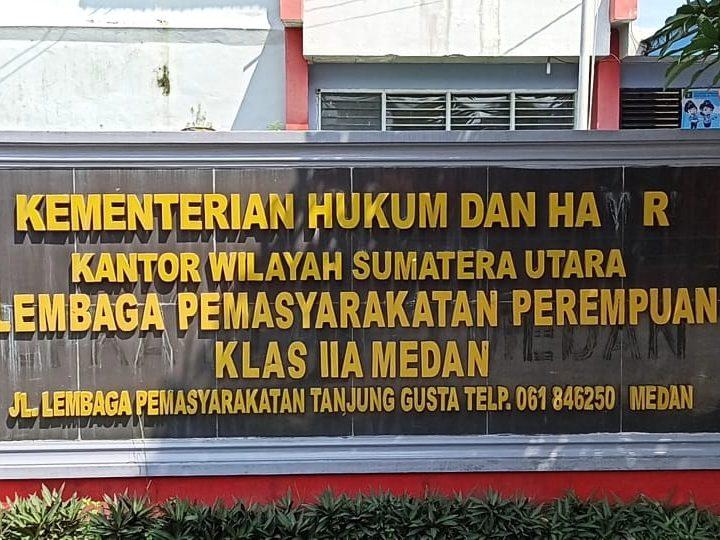 Dugaan Wargabinaan Lapas Wanita Terkonfirmasi Covid19, LBH Medan Minta Gugus Tugas dan Divpas Kanwil Kemenkumham Sumut Transparan