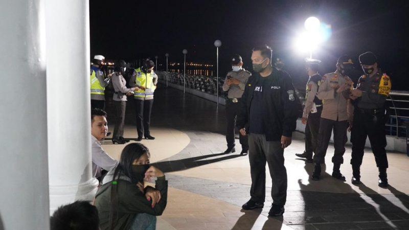 Antisipasi Penyebaran Covid – 19 selama libur panjang, Polres Siak Gelar Operasi Yustisi Bersekala Besar
