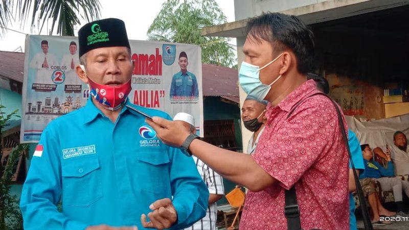 Ketua DPD Gelora Kota Medan, M.Nasir: Kedatangan Bobby Afif Nasution Ke Medan Tuntungan Menunjukkan keseriusan Dalam Membangun Sosial Kemasyarakatan, Ekonomi dan Umat