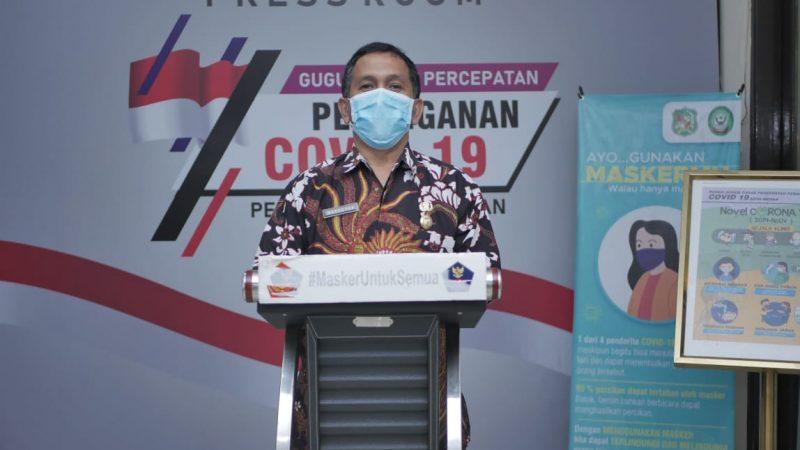 Angka Kesembuhan Covid-19 di Kota Medan Capai Angka 5.899