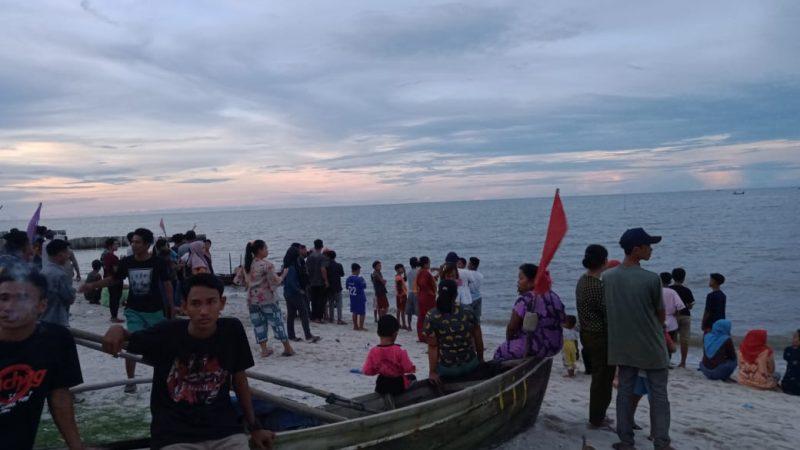Perahu Diterjang Ombak, Nelayan Sergai Tenggelam