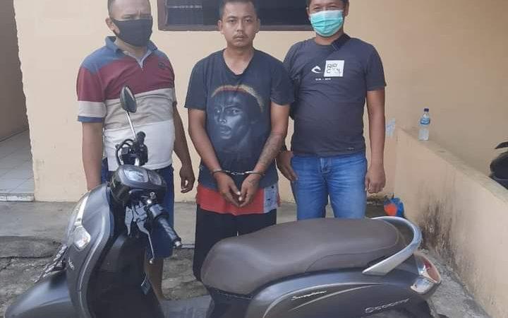 Seorang Pelaku Jambret Ditangkap Polisi Di Simalungun