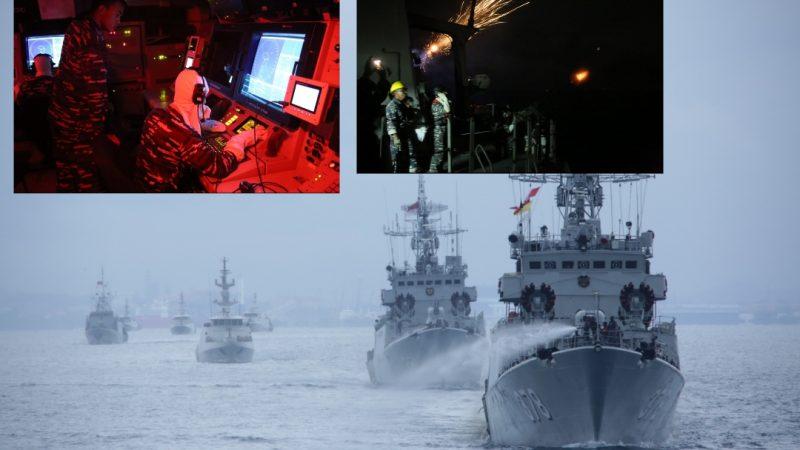 Latihan di Laut Natuna Selatan, TNI-AL Kerahkan Kapal Perang dan Pesawat Udara