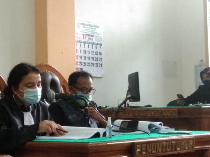 Korupsi Upah Pungut Bagi Hasil, 2 Mantan Kadis dan Kabid DPPKAD Labura Dituntut 4 Tahun