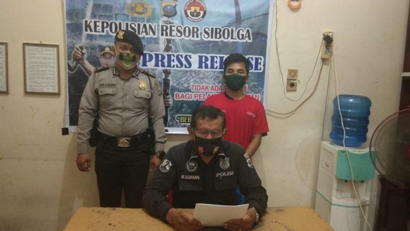 Personil Polres Sibolga Lakukan Penyergapan, Dua Orang Lolos Satu Tertangkap