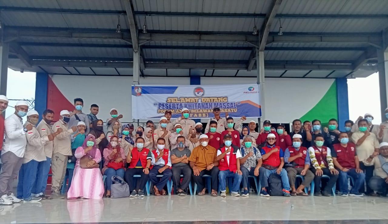 """Sukses!!! FABB Adakan """"Khitanan Massal"""" 450 Anak se-Kecamatan Medan Belawan Di Gedung Sport Center"""