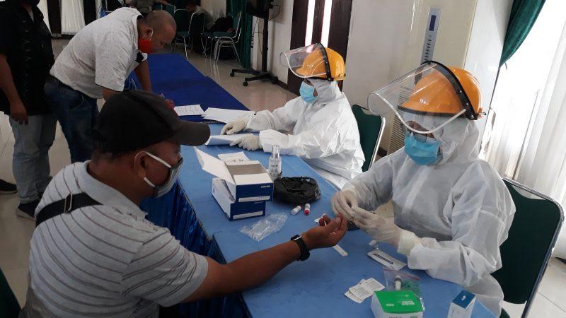 Pelaksanaan UKW Wartawan Unit Pemko Medan Terapkan Prokes 3M dan Diwajibkan Mengikuti Rapid Test