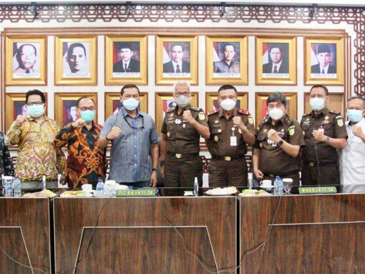 Kejati Sumut dan KPK Gelar Rapat Koordinasi dan Sinergi