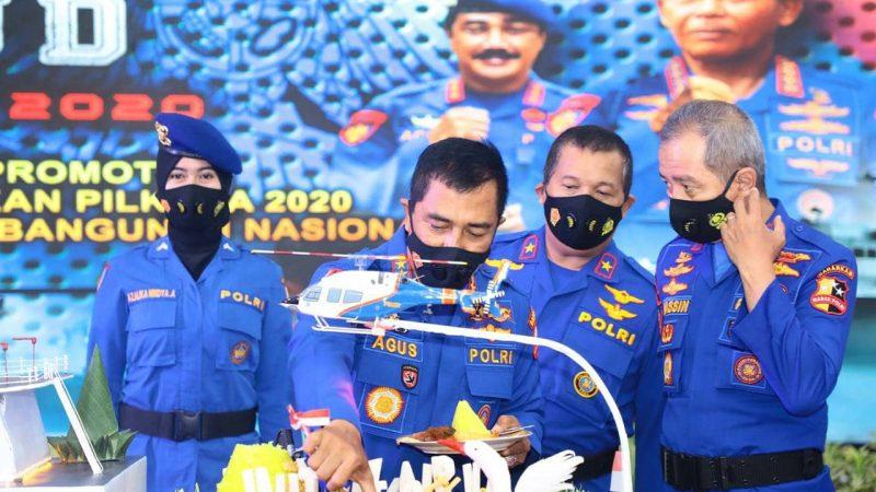 Kapolri Pimpin Upacara Puncak Peringatan HUT Korpolairud ke-70 Secara Virtual