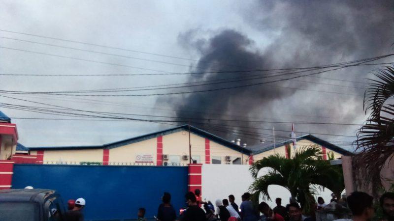 Pabrik Springbed Terbakar,  Diduga Adanya Kesengajaan