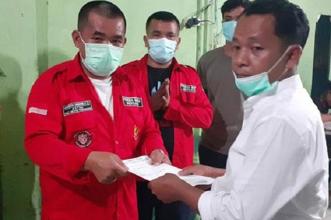Penyerahan Mandat ke PBB Ranting Sp. Selayang