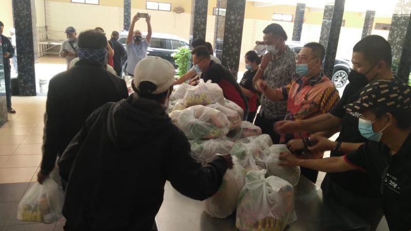 TMP Medan Bersama KBSS dan Rotari Club Laksanakan Bhaksos