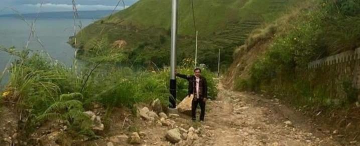 Wakil Ketua DPRD Samosir, Apresiasi Listrik Masuk Dusun Sampuran