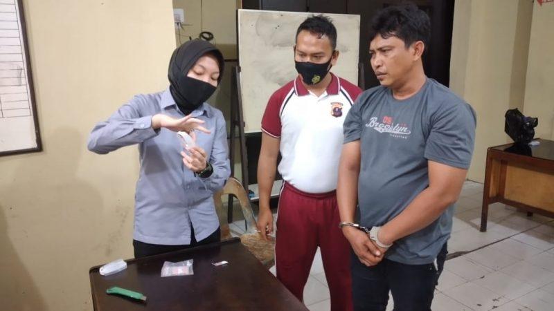 Wong Budi Pemilik Narkotika Jenis Sabu Diamankan Sat Resnarkoba Polres Tanjungbalai