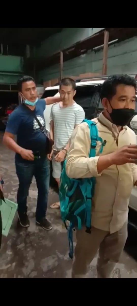 Tim Tabur Intelijen Kejati Sumut Amankan DPO Terpidana Perdagangan Orang