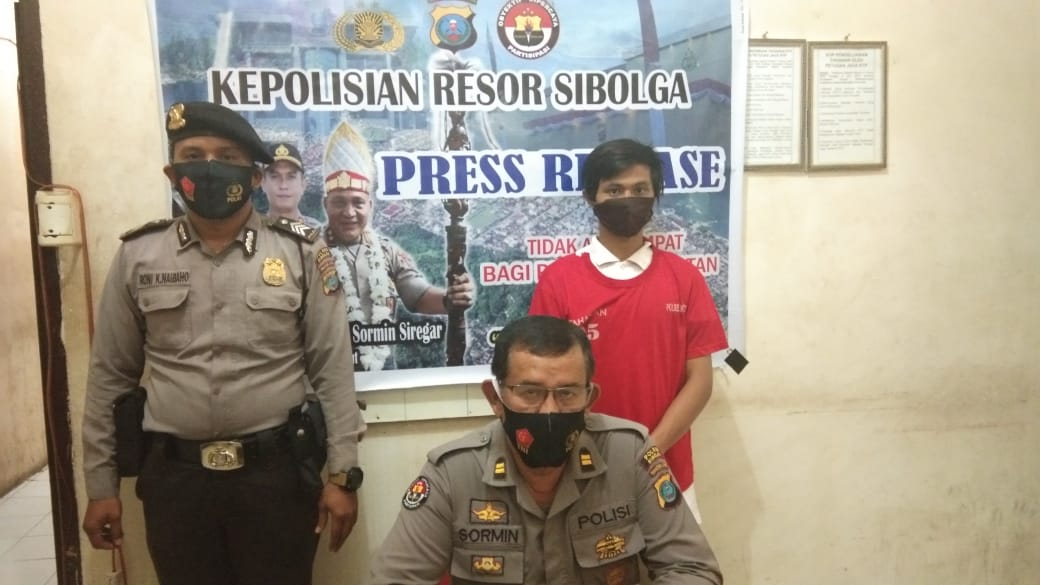 Sat Narkoba Polres Sibolga Ungkap Penyalahgunaan Narkotika di Jln. Murai